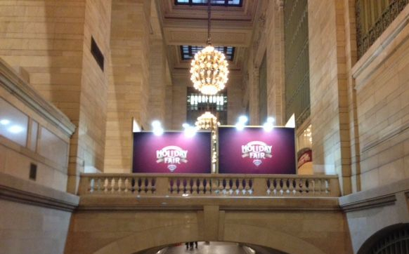 Grand central Holiday market