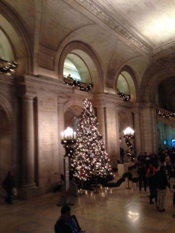 NY Library tree 2